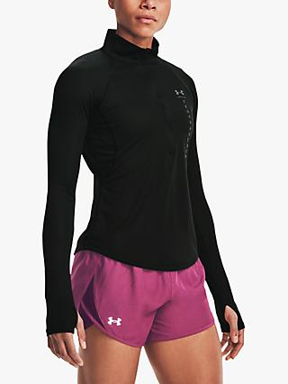 Under Armour Speed Stride Attitude 1/2 Zip Long Sleeve Running Top
