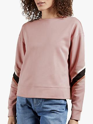 Ted Baker Jjordan Striped Elbow Sweatshirt