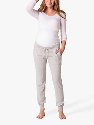 Seraphine Honour Knit Maternity Joggers, Grey