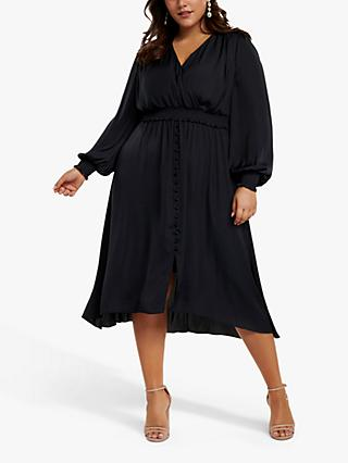 Forever New Curve Eva Dress, Navy