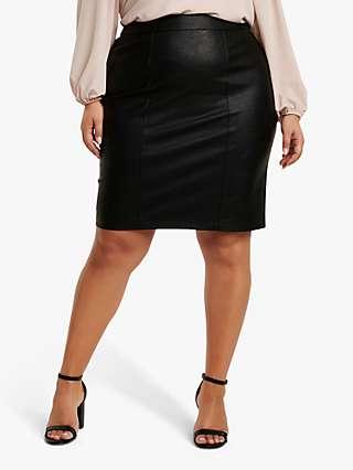 Forever New Curve Adelle Pencil Skirt, Black