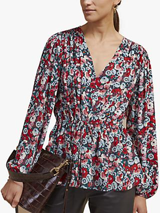 Jigsaw Tapestry Floral Blouse, Multi