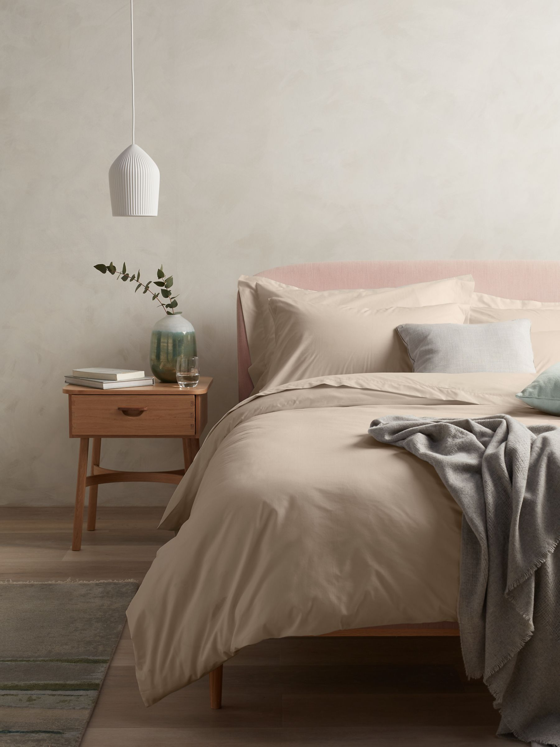 John Lewis & Partners Easy Care Organic Cotton Bedding