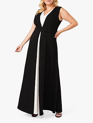 Studio 8 Addy Maxi Dress, Black/White