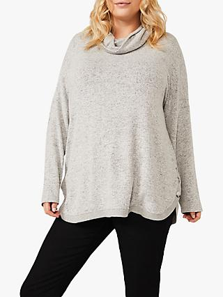 Studio 8 Gala Button Side Top, Grey