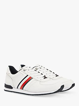 Tommy Hilfiger Signature Tape Trainers, White