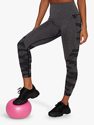 Chi Chi London Activewear Ana Leggings, Grey
