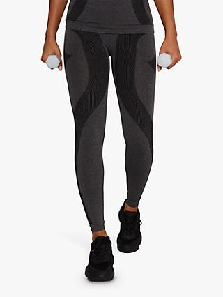 Chi Chi London Activewear Erin Leggings, Black