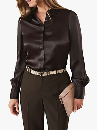 Pure Collection Silk Satin Blouse