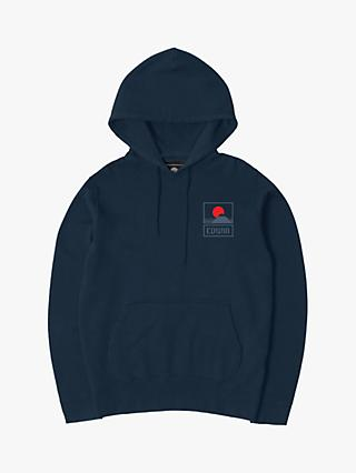 Edwin Sunset on Mt Fuji Hoodie, Navy Blazer