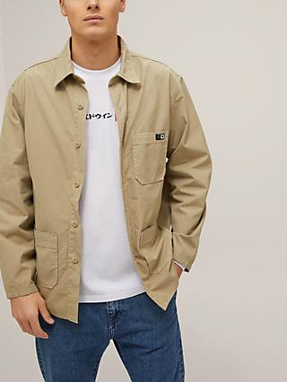 Edwin Major Long Sleeve Shirt, Desert