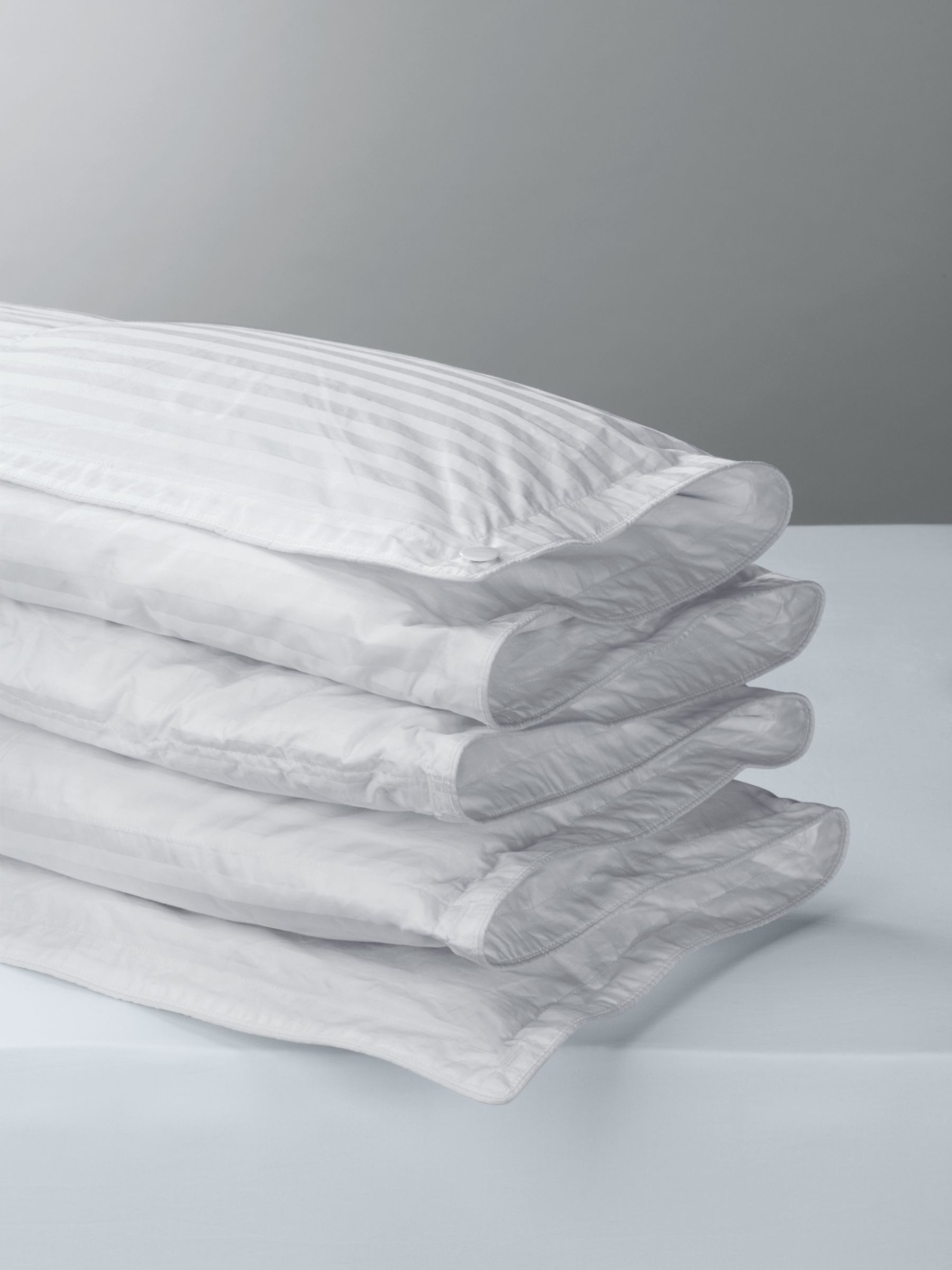 John Lewis & Partners The Ultimate Collection Dual Tog Hungarian Goose Down Duvet, 4.5/10.5 Togs