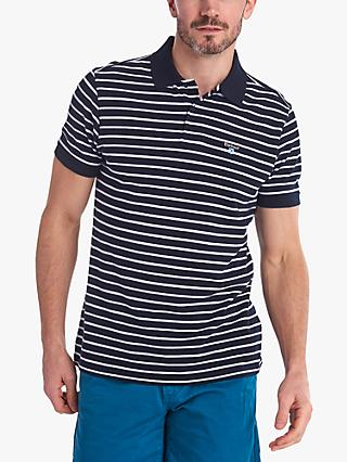 Barbour Lifestyle Styhead Stripe Polo Shirt, Navy