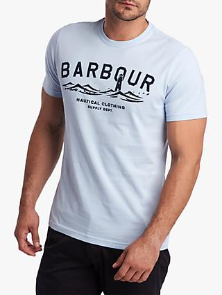 Barbour Nautical Edition Graphic T-Shirt, Inky Blue