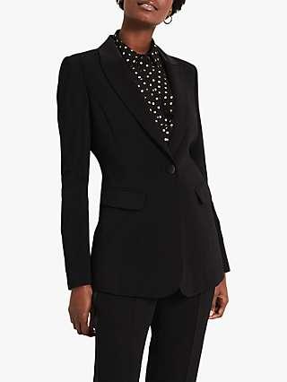 Damsel in a Dress Elise Tux Jacket, Black