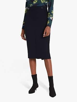 Damsel in a Dress Margot Suit Skirt, Navy