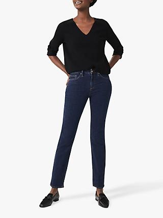 Hobbs Sukey Slim Jeans, Light Indigo