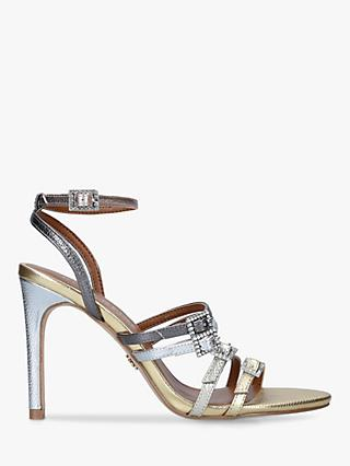 Kurt Geiger London Pierra Stiletto Heel Strappy Sandals