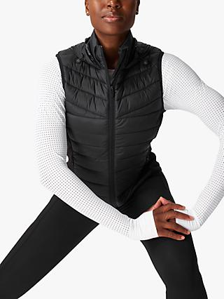 Sweaty Betty Accelerate Running Gilet, Black