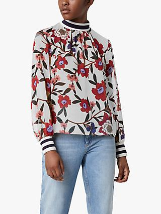 French Connection Eloise Floral Top, Multi
