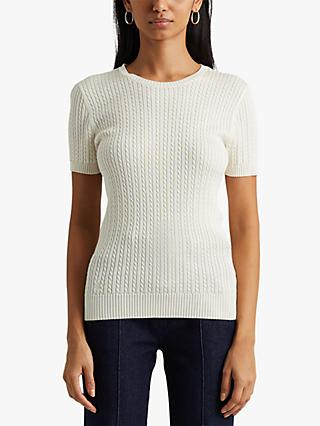 Lauren Ralph Lauren Alturia Top, Neutral