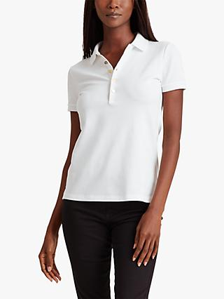Lauren Ralph Lauren Kiewick Short Sleeve Polo Top