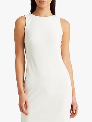 Lauren Ralph Lauren Darian Sleeveless Day Dress, White
