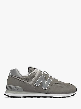New Balance ML574EGG Suede Trainers