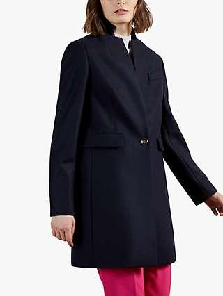 Ted Baker Bianza Wool Blend Coat