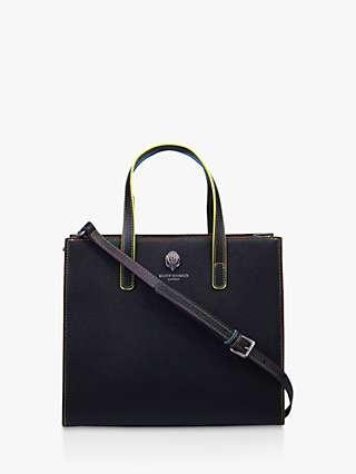 Kurt Geiger London Richmond Leather Tote Bag, Black