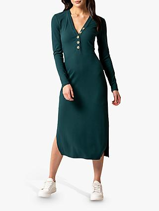 Forever New Bethany Bodycon Midi Dress, Pineneedle