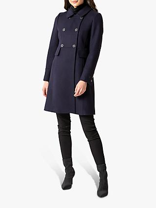 Forever New Sandy Dolly Coat, Navy
