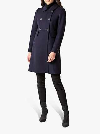 Forever New Sandy Dolly Coat, Navy