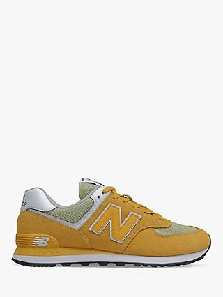 New Balance 574 Suede Trainers
