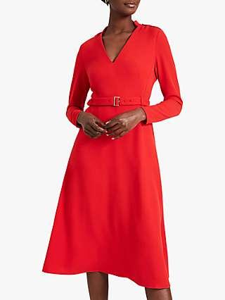 Damsel in a Dress Kiana Fit and Flare Midi Dress, Orange