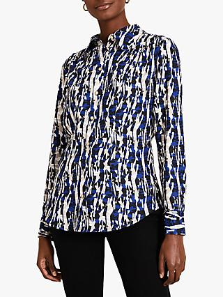 Damsel in a Dress Avaline Abstract Print Shirt, Multi