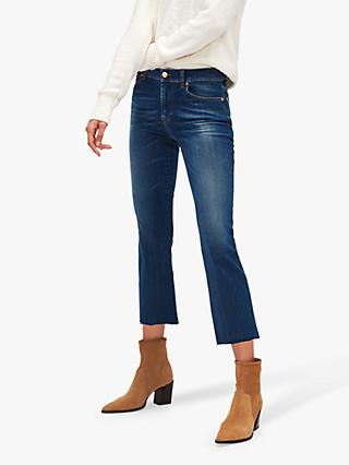 7 For All Mankind Ankle Boot Slim Illusion Jeans, Mid Blue