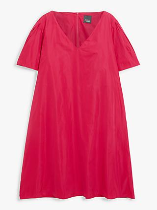 Persona by Marina Rinaldi Short Sleeve A-Line Dress, Fuchsia