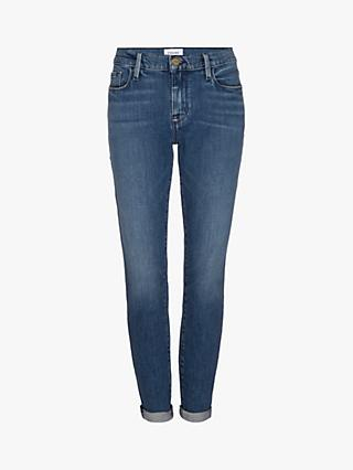 FRAME Le Garcon Skinny Jeans, Rodeo Blue