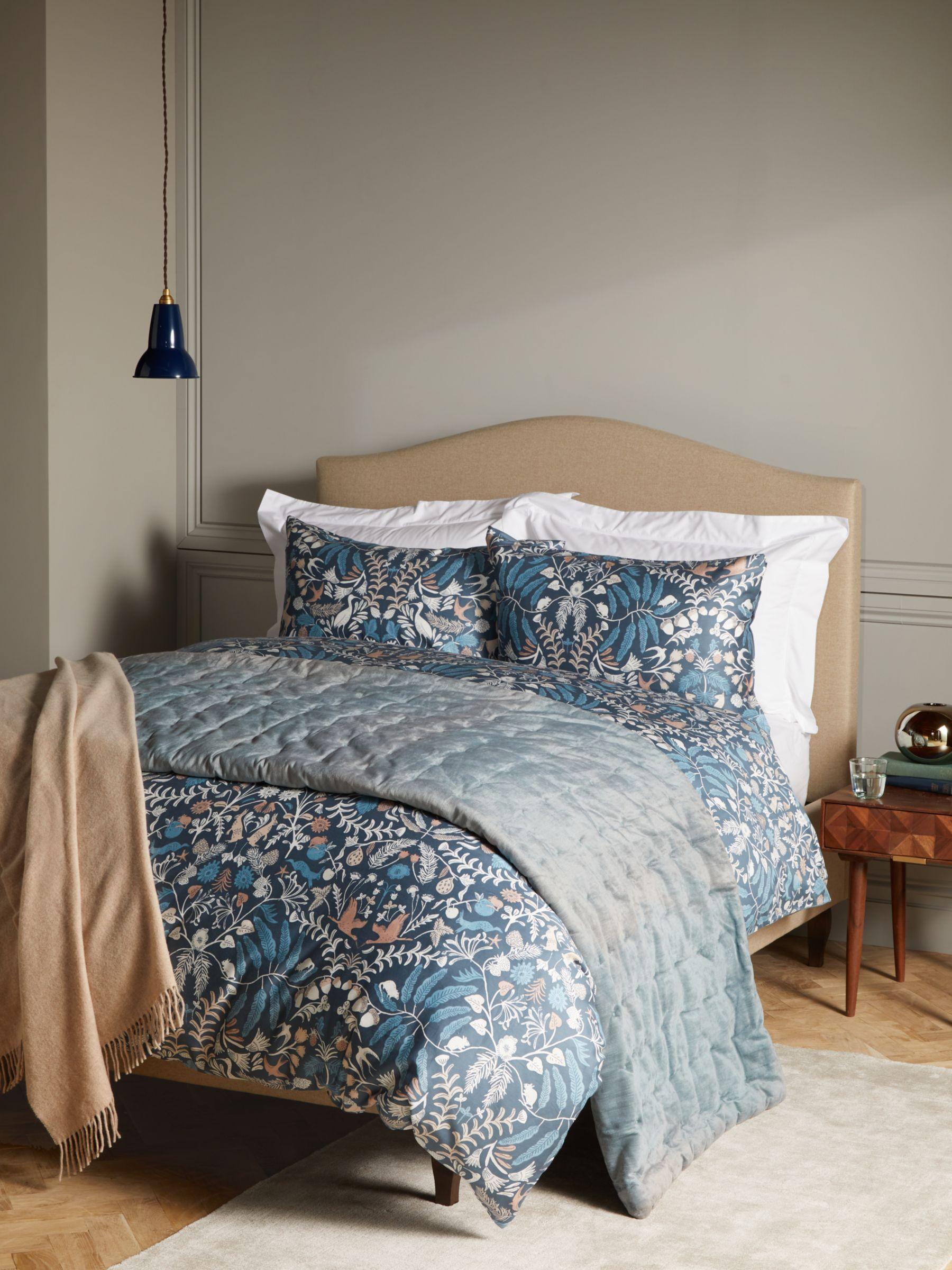 John Lewis & Partners Woodland Fable Double Duvet Cover Set, Multi