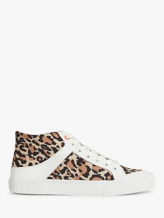 AND/OR Emma Canvas Hi-Top Trainers, Multi