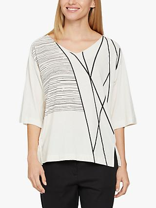 Masai Copenhagen Dejana Abstract Top, Neutral