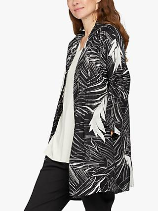 Masai Copenhagen Josslyn Abstract Bird Print Jacket, Black