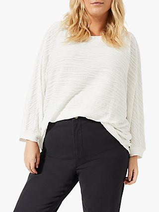 Studio 8 Belle Wave Textured Top, Ivory