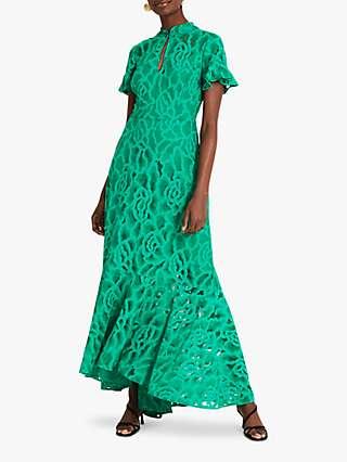 Damsel in a Dress Lulu Lace Dress, Green