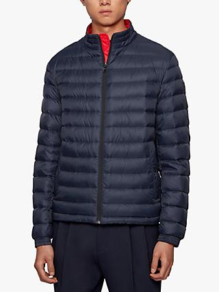 BOSS Chorus Padded Packable Jacket, Dark Blue