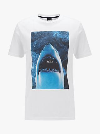BOSS Fully Recyclable Noah Shark Graphic T-Shirt