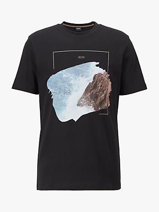 BOSS Fully Recyclable Noah Graphic T-Shirt