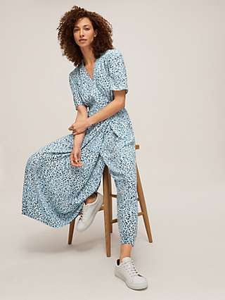 Somerset by Alice Temperley Ombre Leopard Jumpsuit, Blue