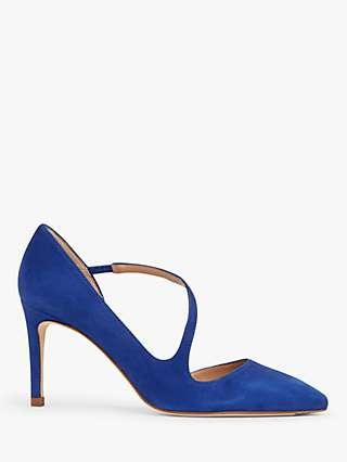 L.K.Bennett Heather Suede D'Orsay Court Shoes